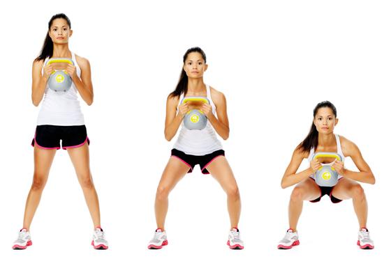 kettlebell-squat